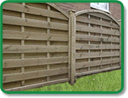 Arch Top Decorative Fence Panel