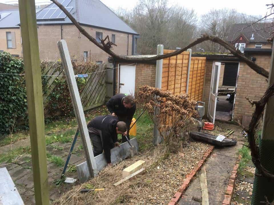 Concrete Gravel Board Fitting