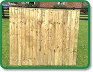 Feather Edge Fence Board Example