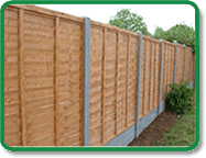 Panel Fence Example