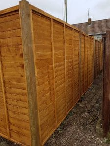 Replacement Fencing Job in Eastleigh