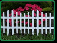 Decorative Palisade Fencing Example