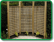 Decorative Trellis Fencing
