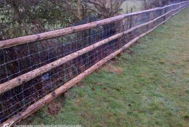 Post and Rail Fencing Company Service