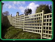 Trellis Garden Fencing Example