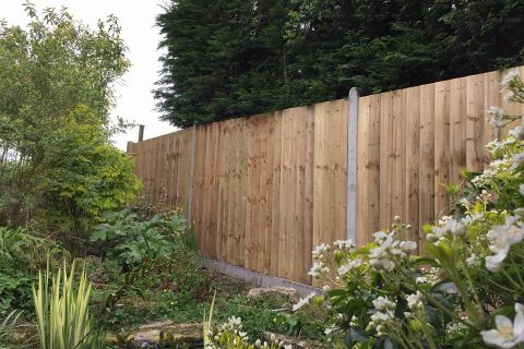 New Closeboard Fencing for a Southampton Fencing Project
