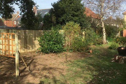 6ft Closeboard Timber Posts for a Job in Hamble