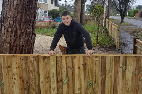 Bespoke Closeboard Fencing Project for a Customer in Bitterne, Southampton